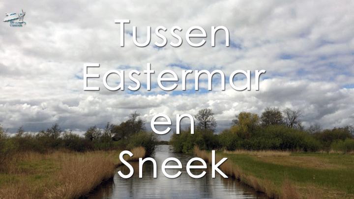 Varen met de Canicula - Vaarroute Rondje Noord Friesland tussen Eastermar en Sneek