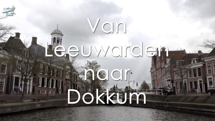 Varen met de Canicula - Vaarroute Rondje Noord-Friesland van Leeuwarden naar Dokkum