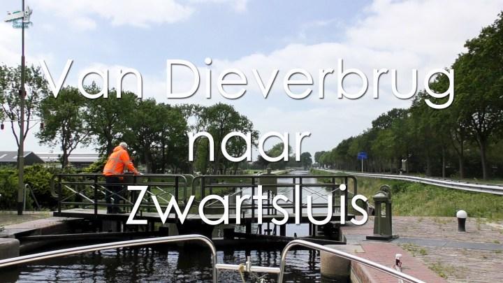 Vaarroute Rondje Noord-Nederland van Dieverbrug naar Zwartsluis - De Canicula
