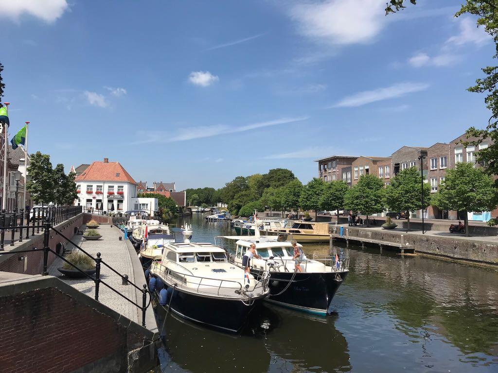 Varen over de Mark naar Oudenbosch
