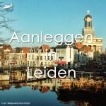 Varen met de Canicula - Aanleggen in Leiden