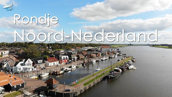 Varen met de Canicula - Vaarroute Rondje Noord Nederland
