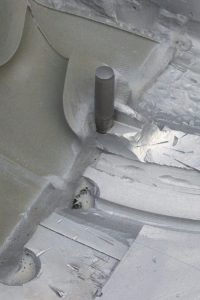 decapage et suppression de la résine de formage de moule industriel