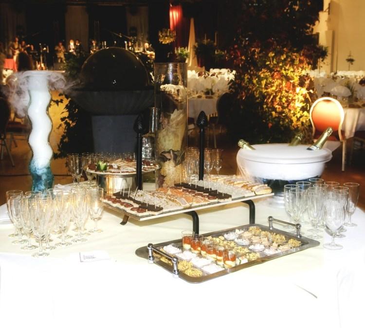 cryogenie alimentaire chaine du froid et decoration de table