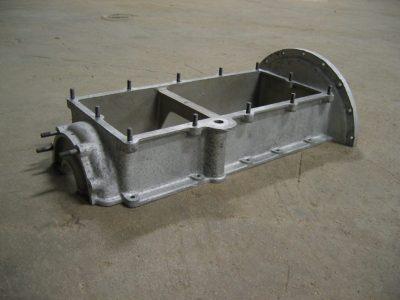 preparation de surface pièce aluminium (carter moteur)