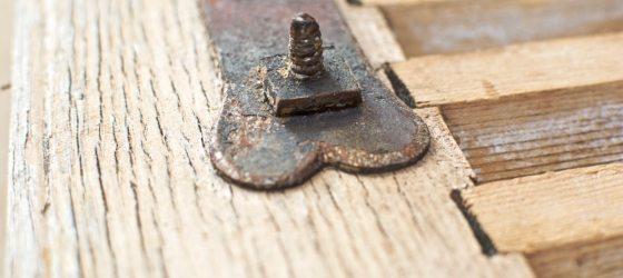 résultat décapage volet persienne en bois