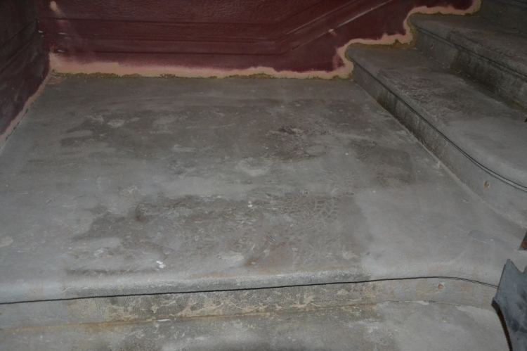 microsablage escalier en beton