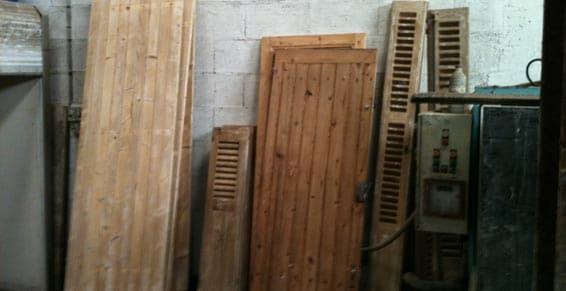 décapage volet bois nettoyeur haute pression