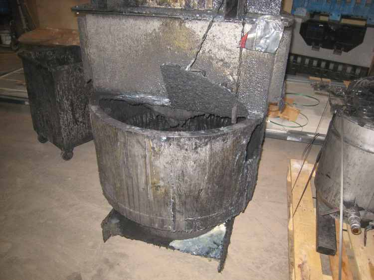 decapage inox cuve graphite