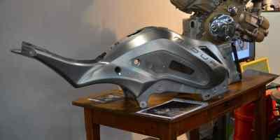 chassis moto midual alu monobloc