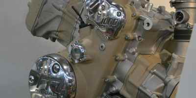 bloc moteur moto midual flat twin longitudinal