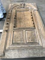 décapage porte bois sculpture