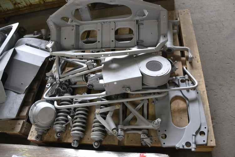 micro sablage pièces auto Jaguar
