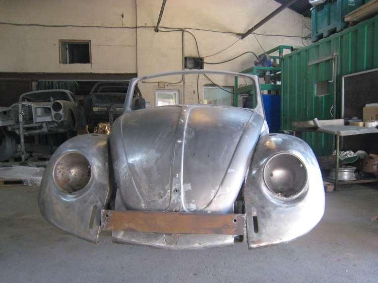 Sablage volkswagen cox cabriolet noire