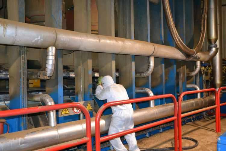 nettoyeur cryogénique industrie