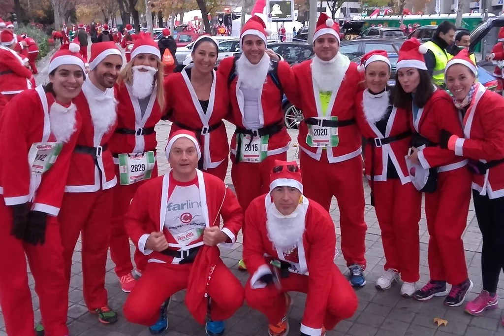 carrera popular - papa noel 3 - organizacion eventos deportivos - decateam