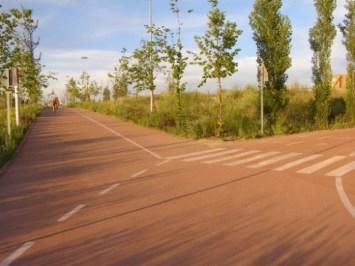 Plano interactivo Anillo Verde Ciclista de Madrid