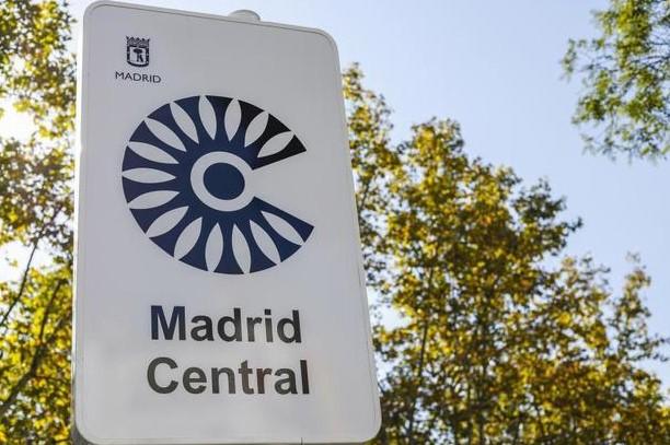 Mapa Interactivo en Google Maps del área restringida de circulación MADRID CENTRAL