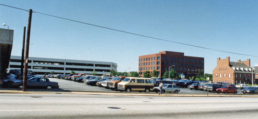 The SunTrust corner prior to construction.