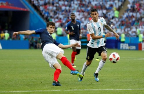Image result for benjamin pavard world cup goal