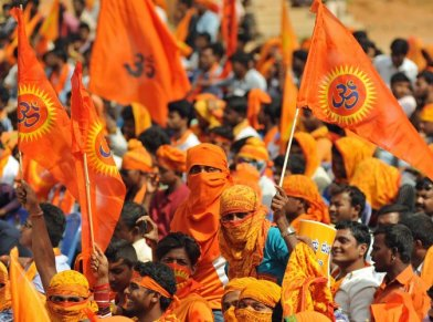 The challenge before BJP to handle the spaces of hardline Hindutva politics in its cadre.