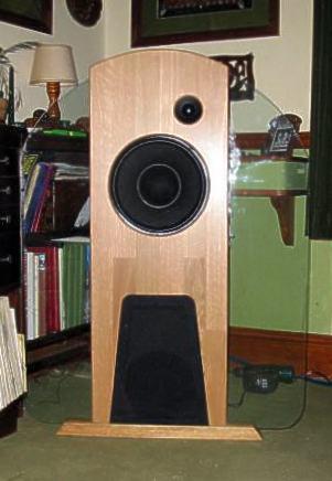 DIY hi fi openbaffle loudspeakers