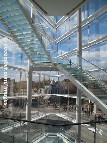 MAD Album Stairs and Atrium  Overture Center  Madison