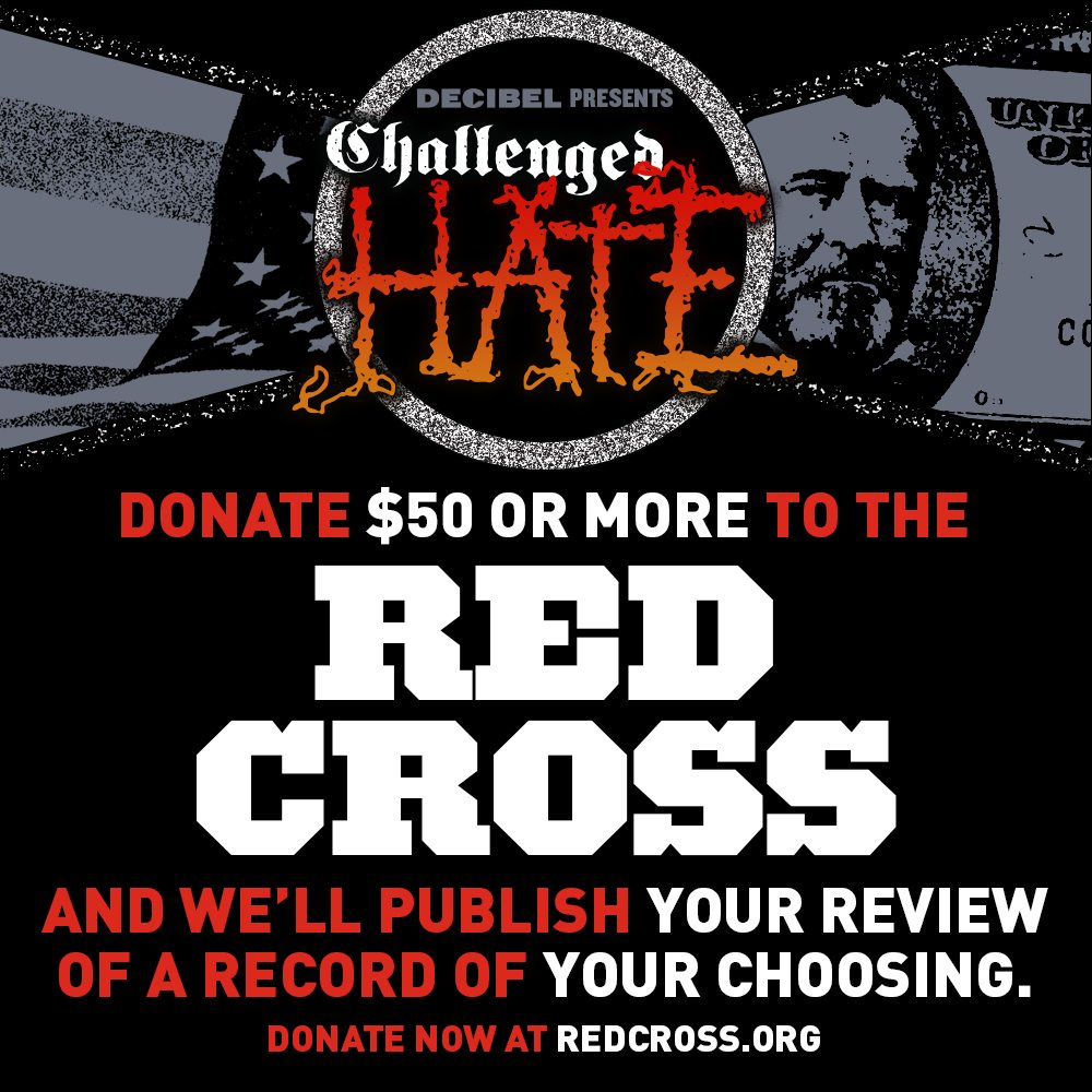 Donate to the Red Cross Get to Review an Album in Decibel ...