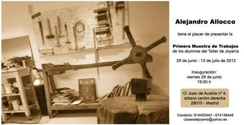 Alejandro Allocco | Flyer muestra alumnos 2012