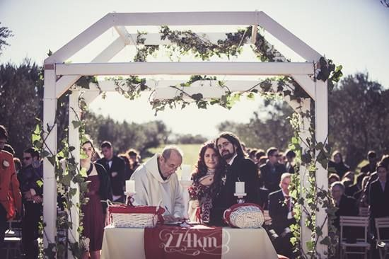 Ana and Esteve Steampunk wedding - 274km and El Costurero Real