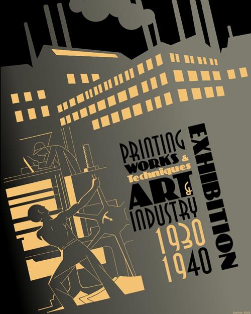 'Art Deco 1' by Stefan Prohaczka