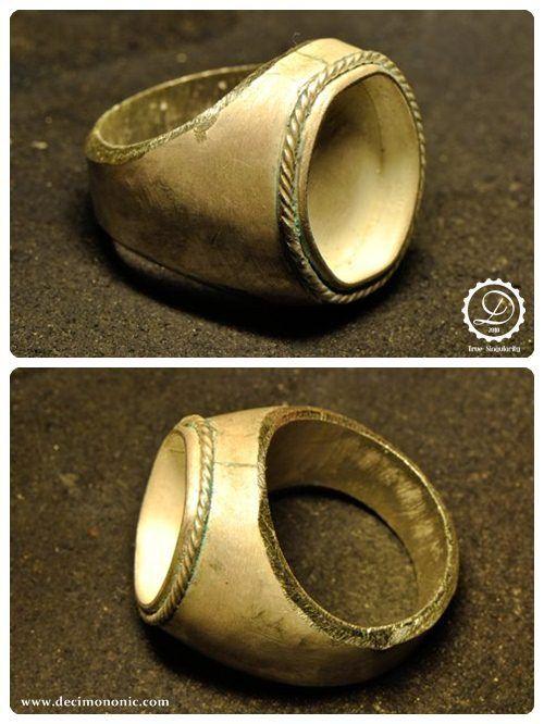 Decimononic - Time seal ring making-of 5