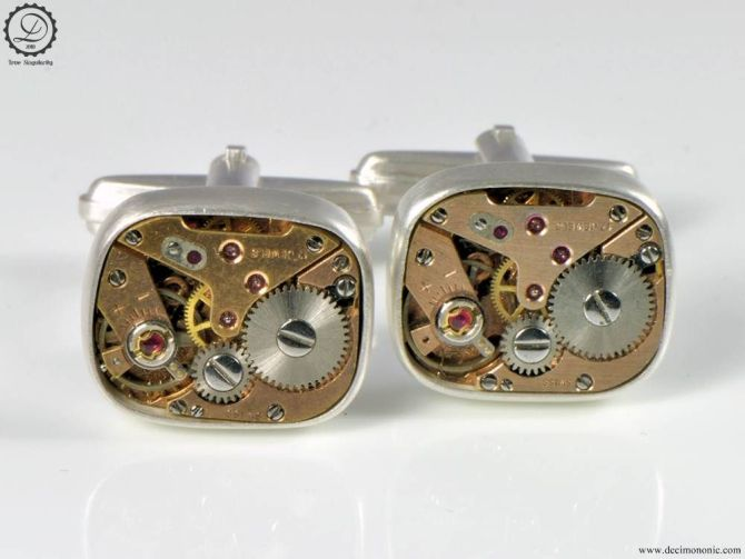 Supra | Steampunk cufflinks by Decimononic