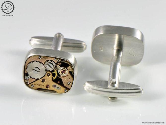Supra | Steampunk cufflinks by Decimononic