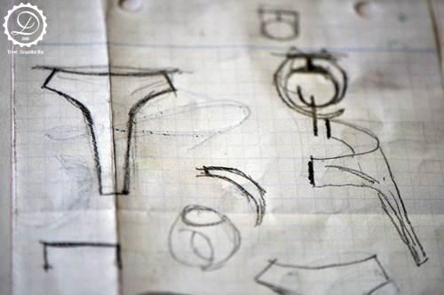 Decimononic - Time seal ring making-of 1