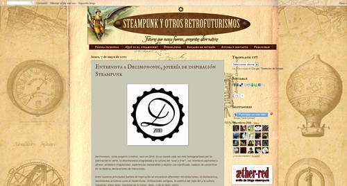 Decimononic interviewed by Steampunk y otros retrofuturismos