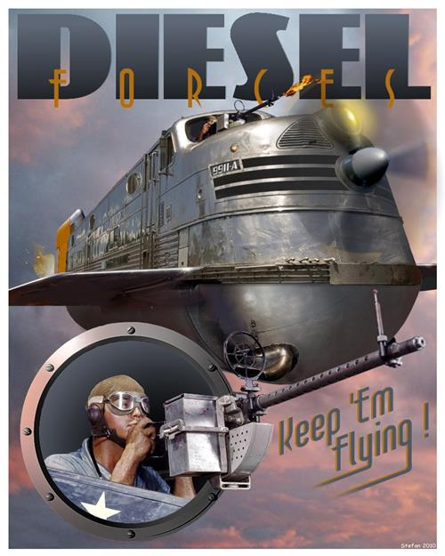 'Diesel Forces' by Stefan Prohaczka