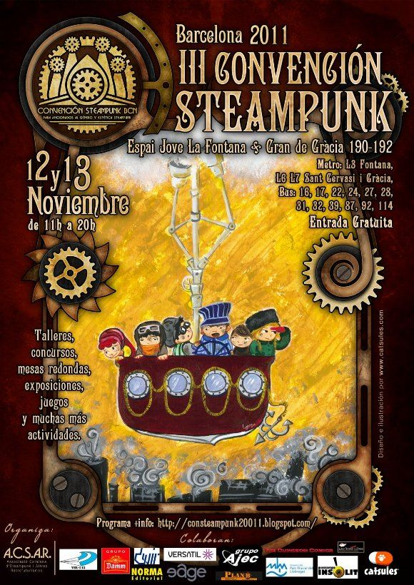 III Steampunk Convention Barcelona 2011