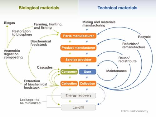 Circular Economy diagram courtesy of McKinsey&Company