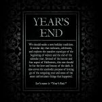 Years End | The Goblin Market