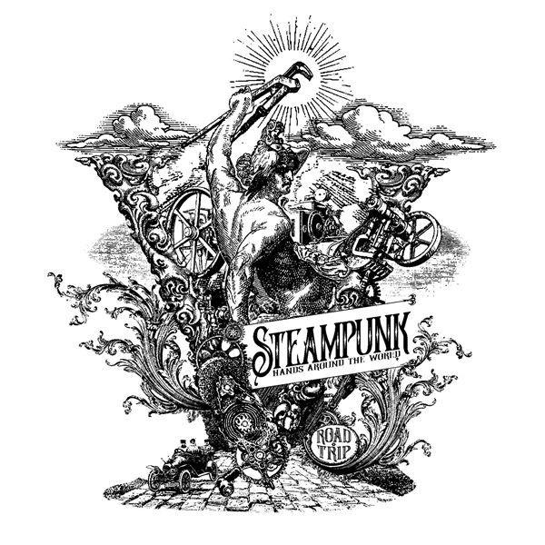 Steampunk Hands Around the World 2018