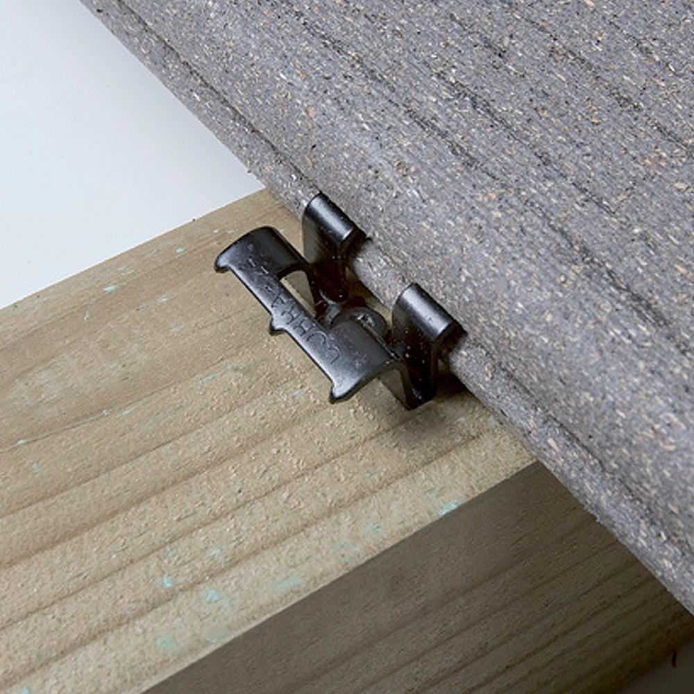 Clip Cobra 24 pour lames deterrasse bois et composite  DeckLinea