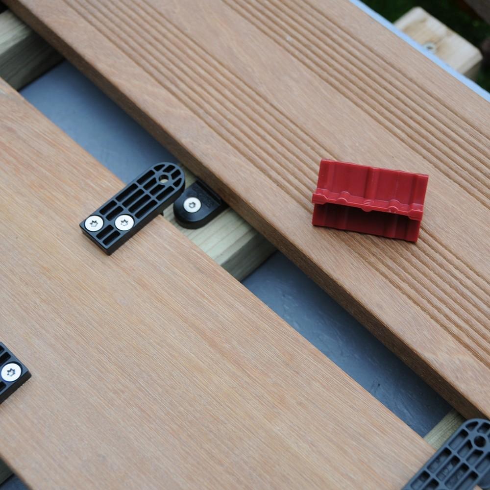 Clip DLOCK Universel  Clip de fixation terrasse  DeckLinea