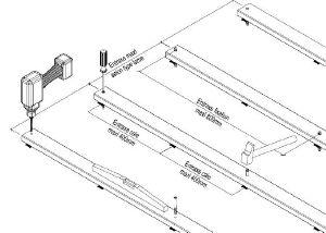des cales de mm doivent etre inseres tous les cm pour permettre la circulation de leau ou reprendre les irregularites du sol