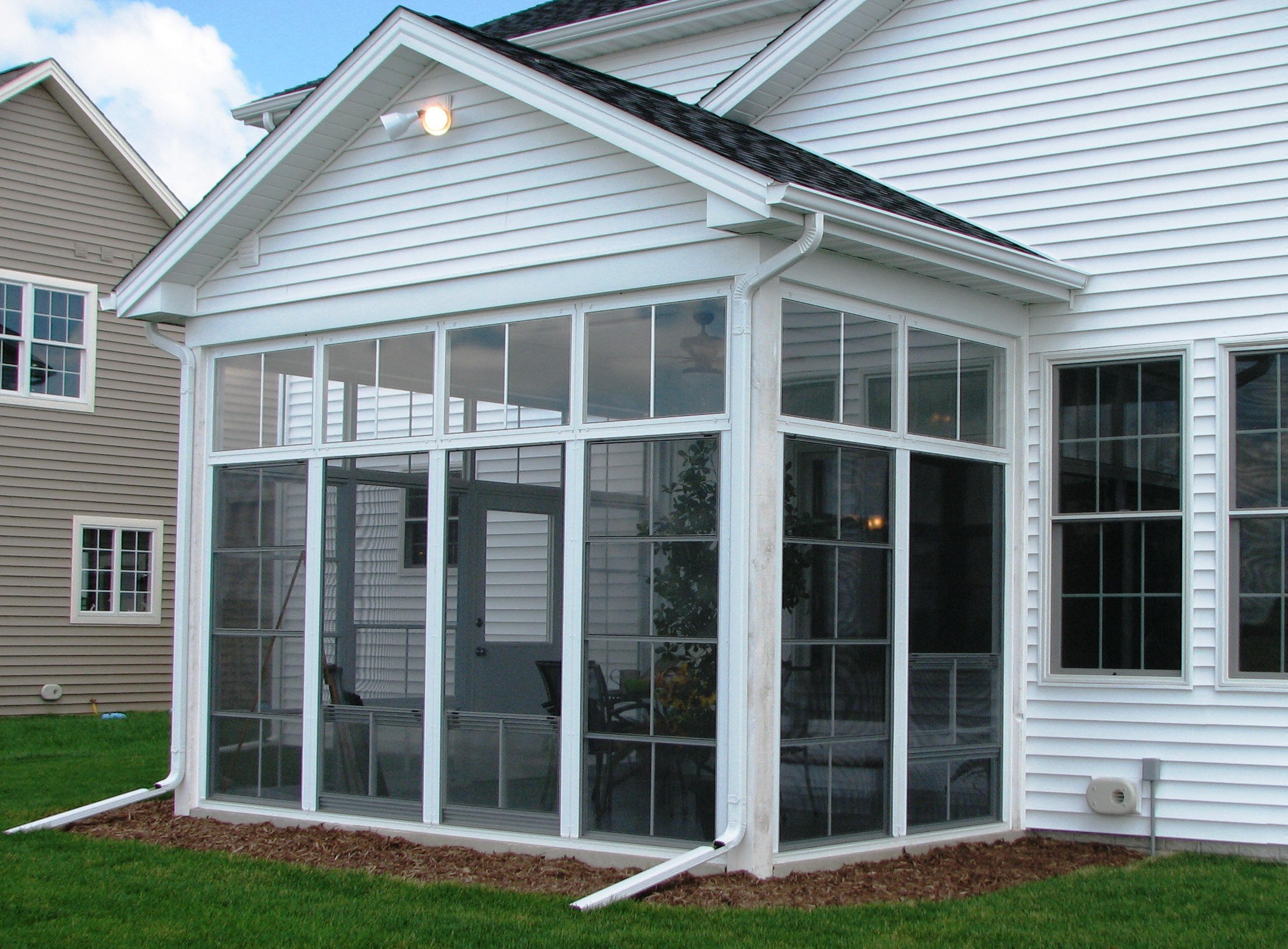 screen porch kits custom windows and