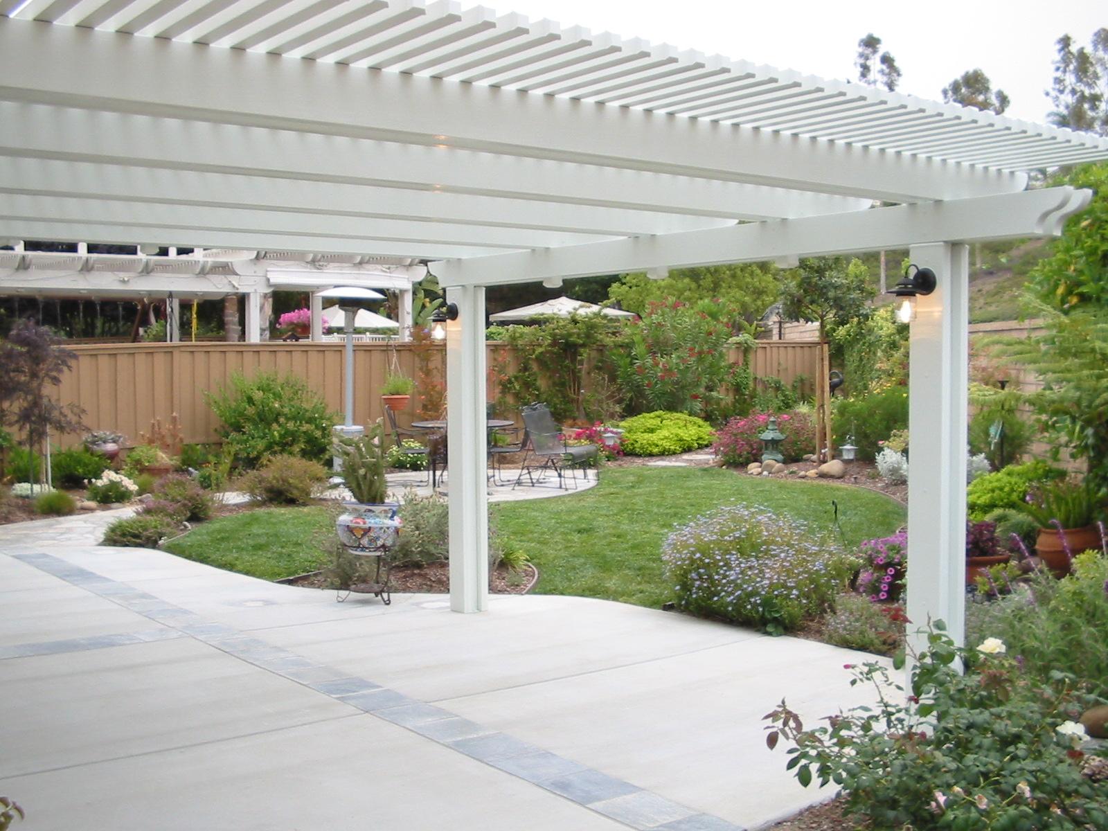 12 x 15 lattice patio cover