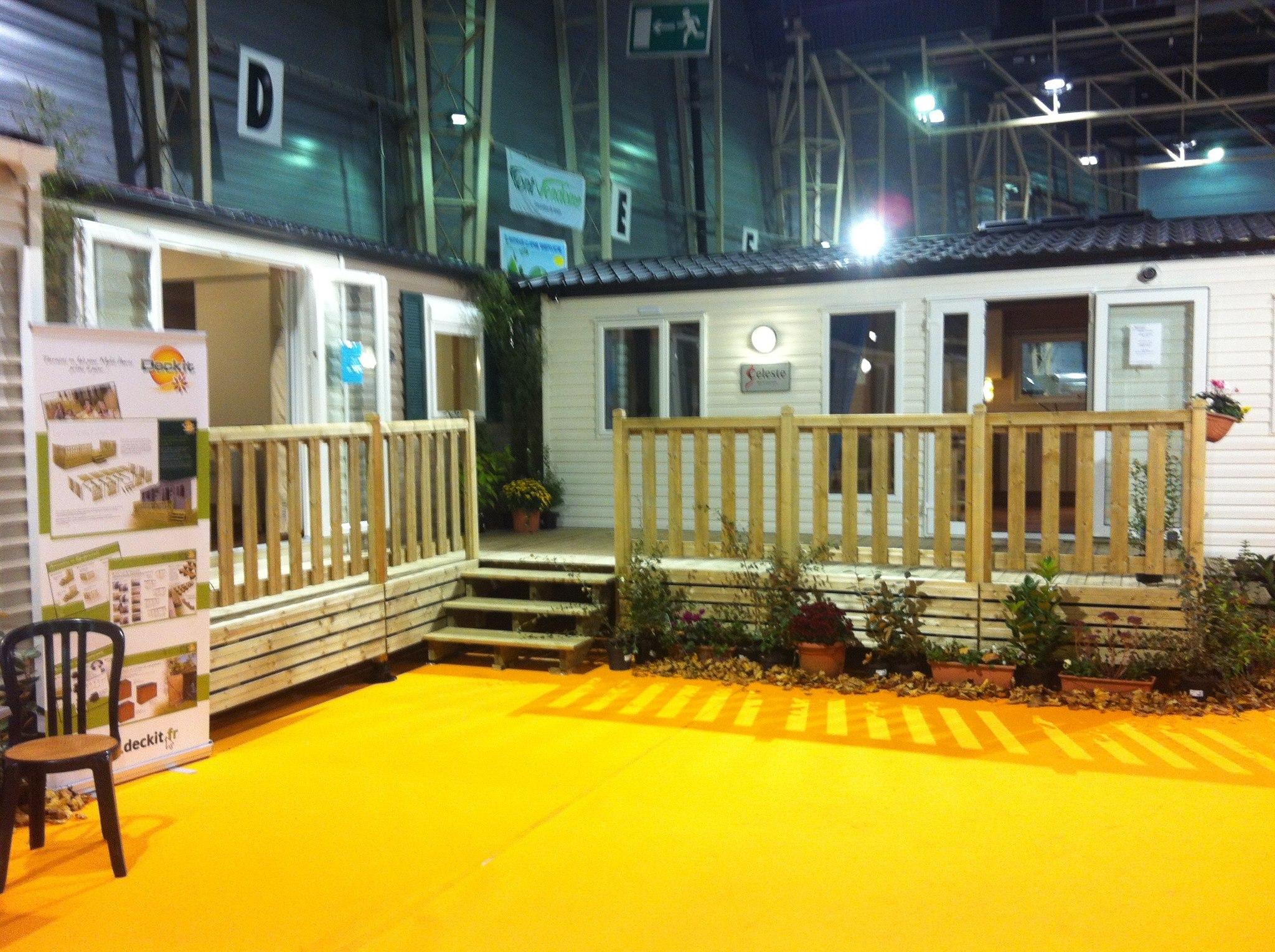 exposition terrasses mobil homes gayant expo octobre ForSalon Du Mobil Home