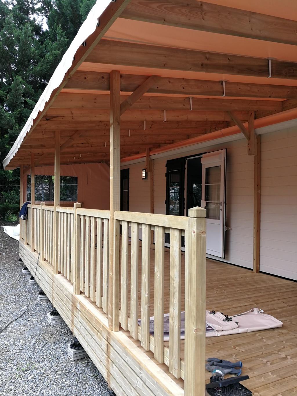 Terrasse Fermée En Bois terrasse couverte et fermée - détails en photos - deckit