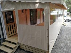 terrasse couverte et ferm e d tails en photos deckit. Black Bedroom Furniture Sets. Home Design Ideas