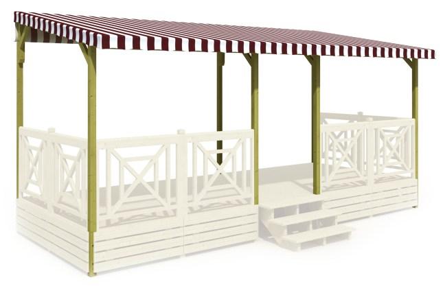 Accessoires Pour Terrasse Mobil Home Deckit Fabricant De